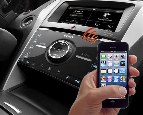 pair  iphone  ford sync  myford touch