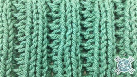 how to knit a rib stitch the fancy slip stitch rib pattern knitting stitch 84