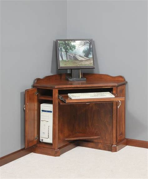 corner armoire computer desk compact small corner armoire computer desk colour