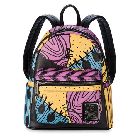 sally mini backpack by loungefly tim burton s the nightmare before shopdisney