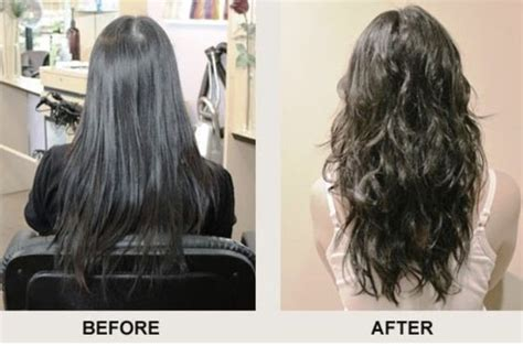 before and after photos of permant waves with frizzy hair beach wave perm before and after photos and guide