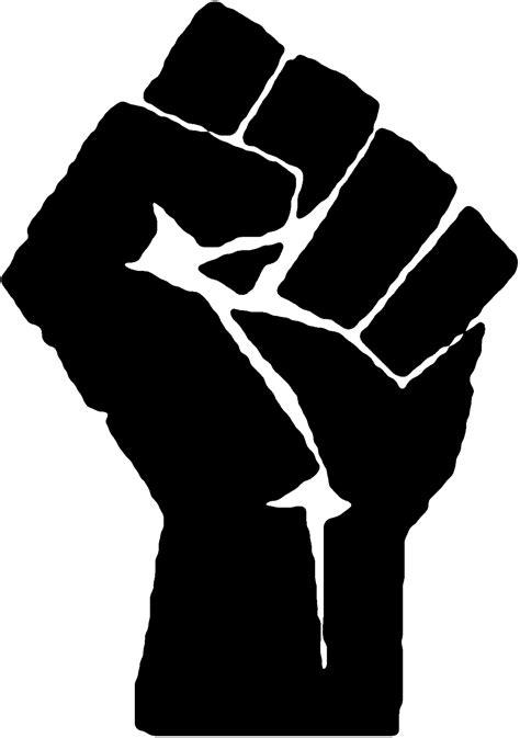 Raised fist - Wikipedia