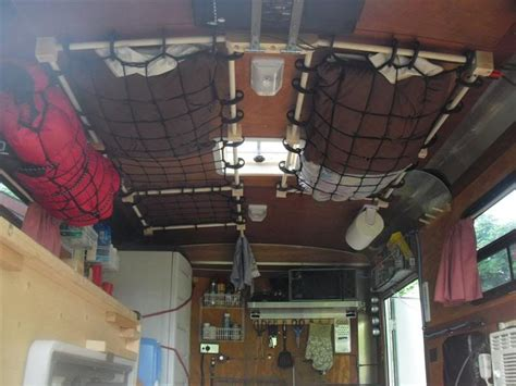 storage ideas  space saving inspiration  sailors cargo net ceiling storage  ceilings