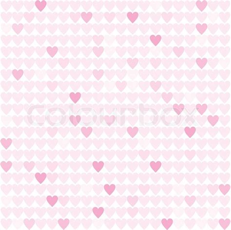 heart pattern pink pattern from pink hearts isolated on white background