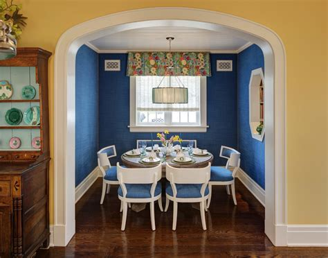Royal Blue Dining Room by 25 Blue Dining Room Designs Decorating Ideas Design
