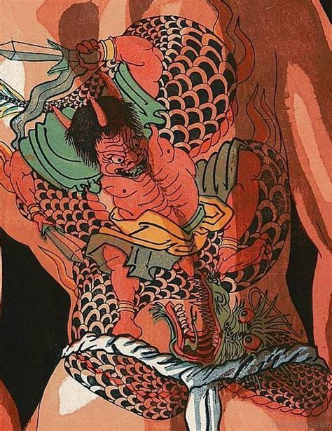 japanese devil tattoo 68 spiritual traditional japanese tattoos for back
