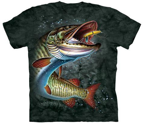 Natrual Made Fish Nutrusi Usa muskie fish shirt made of usa cotton