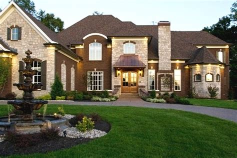 big nice house dream home pinterest new home builders stone exterior and texas homes beautiful dream house dream home pinterest