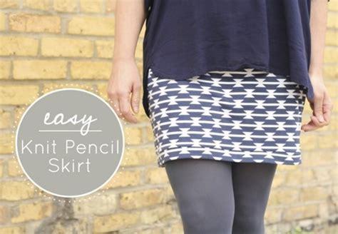 easy knit skirt pattern 10 fall skirt tutorials free patterns