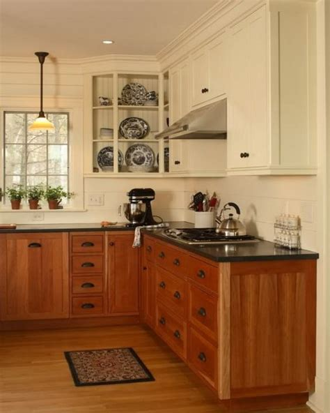 Dual Tone Kitchen Cabinets 2 Tone Painted Kitchen Cabinets Pictures To Pin On Pinterest Pinsdaddy