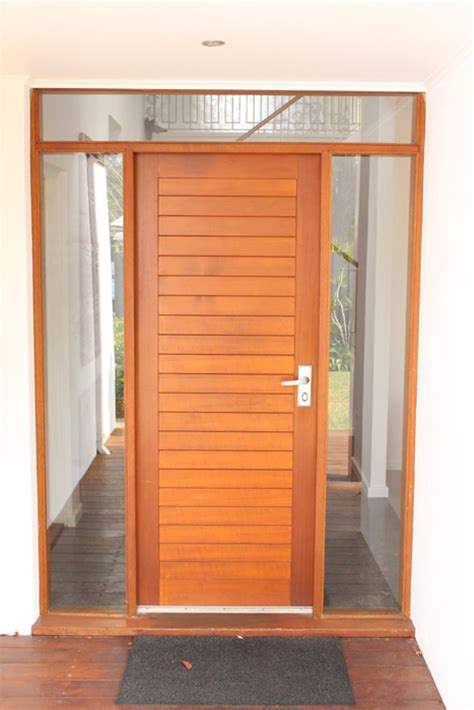 Cedar Front Door by Taurus Installations Gallery