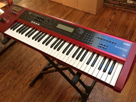Li Keyboard Korg sequential circuits six track synthesizer vintage guitar gallery of island vintage