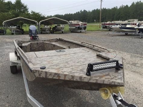 used havoc duck boats for sale 2016 used havoc 17dbst jon boat for sale 16 990