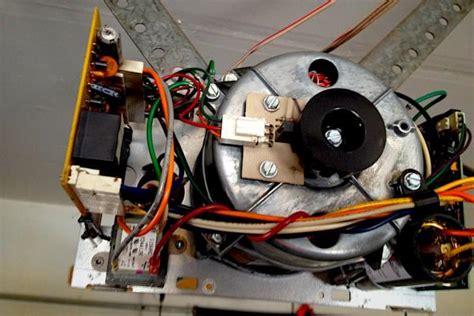 garage door opener capacitor failure garage door humms buzz will not open doityourself community forums