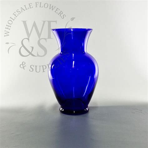 Cobalt Blue Vases Wholesale by Classic Glass Urn 10 5 Quot Cobalt Blue Wholesale Flowers