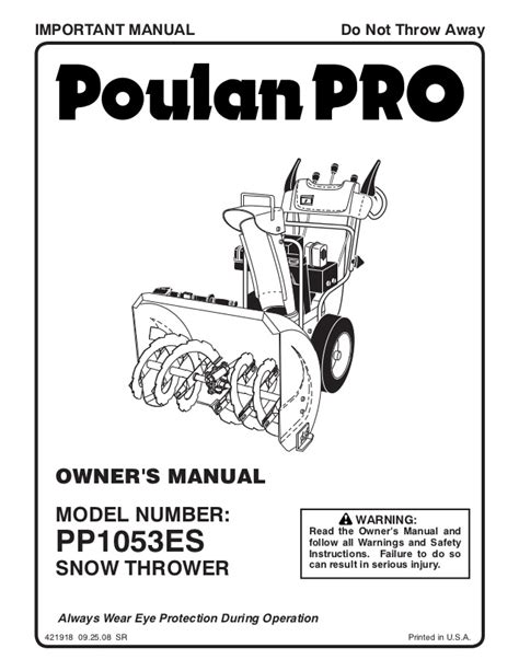 small engine repair manuals free download 2009 mini cooper clubman user handbook poulan pro pp1053es snow thrower owner s manual