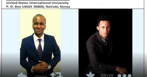 Mba Usiu by Swahili Time Two Usiu Students From Tanzania Dead In One