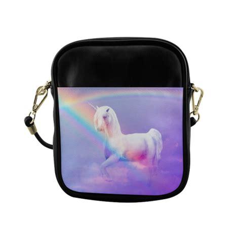 Sling Bag Rainbow Hijabarrahya unicorn and rainbow sling bag model 1627 id d297420
