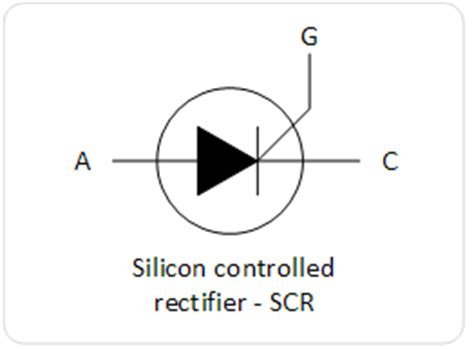 silicon diode applications basic types of thyristors and applications electronics infoline