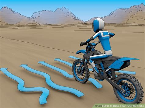 how to ride a motocross bike how to ride your dirt bike 10 steps with pictures