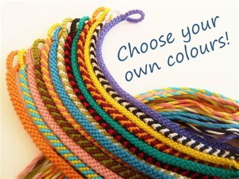 Matching Woven Bracelet comment faire un scoubidou bracelet