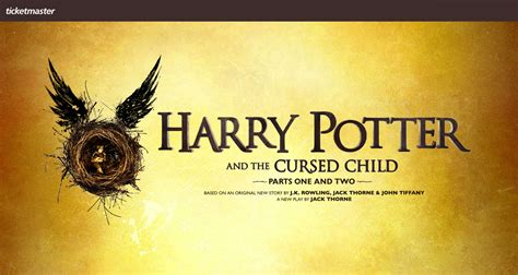 ticketmaster verified fan harry potter harry potter and the cursed child broadway tickets