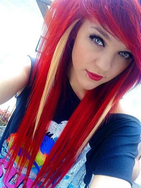 emo hairstyles for redheads 1000 images about ஜ hair swag ஜ on pinterest teen