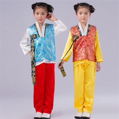 boy costume korean hanbok korean traditional clothes blue