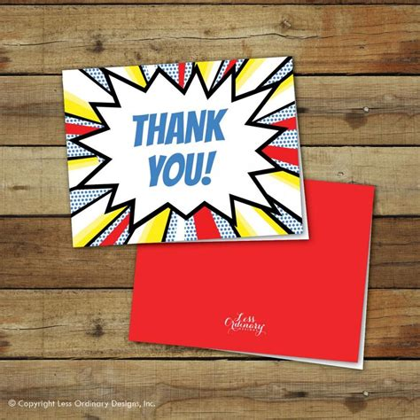 thank you card template heroes printable thank you notes folded thank you cards
