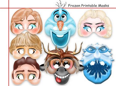 printable masks queen unique ice queen printable masks diy paper mask kids
