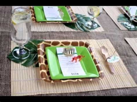 Decorating Ideas Jungle Theme Baby Shower Diy Jungle Themed Baby Shower Decorating Ideas