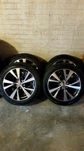 Nissan Truck Rims And Tires Md 2016 Nissan Maxima Oem Wheels Tires Like New