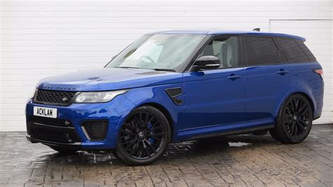 land rover new model 2017 used 2017 land rover range rover sport svr 2017 17 land