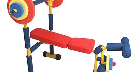weight bench set for kids weight bench set for toddlers and kids by redmon lol