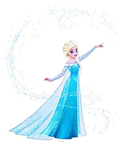 Elsa 2D 2 by fenixfairy on DeviantArt