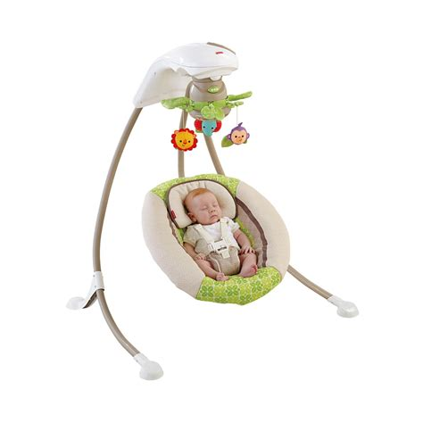 fisher price rainforest swing fisher price rainforest friends deluxe cradle n swing