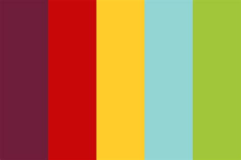 circus colors summer circus color palette