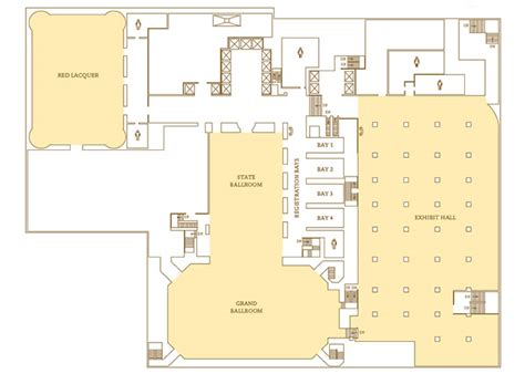 Rosen Shingle Creek Floor Plan Venues Amp Services In Chicago Il Palmer House 174 A Hilton
