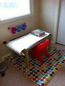Toddler Room Ideas Chalkboard Kids Art Table Ikea Style Ikea Hackers Ikea Hackers