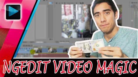 tutorial bagaimana cara membuat video seperti zach king zach king magic tutorial picture from pc vegas pro