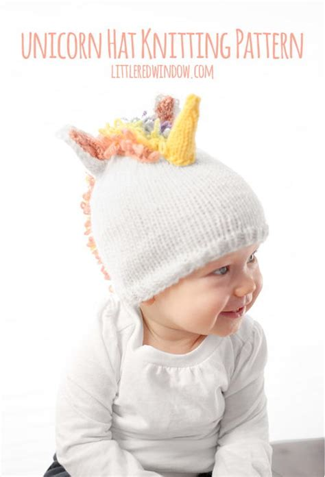 free knitting pattern unicorn hat magical unicorn hat allfreeknitting com