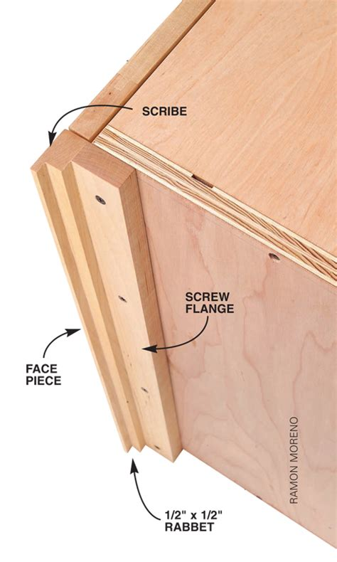 Install Crown Molding On Kitchen Cabinets by Q Amp A Fitting A Frameless Cabinet Into A Corner