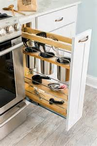 narrow kitchen cabinet organizers 70 practical kitchen drawer organization ideas shelterness