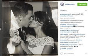 Professor Green has only seen wife Millie Mackintosh ONCE