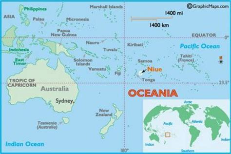 niue on world map niue green policy