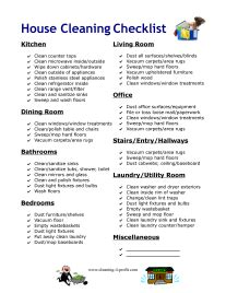 house cleaning checklist for template house cleaning checklist for pictures to pin on