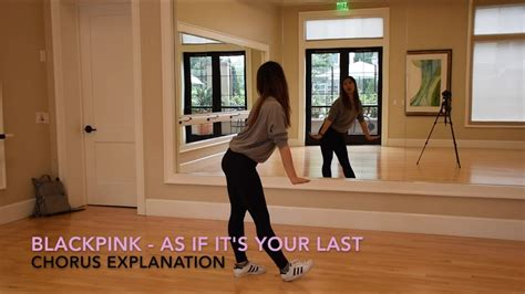 blackpink dance tutorial eclipse blackpink as if it s your last 마지막처럼 dance