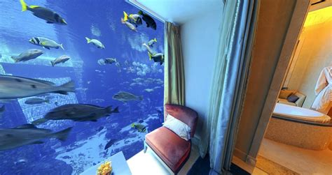 Suite Neptune Underwater 9 Underwater Rooms You Ll Want To Dive Right Into