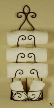Wine Rack For Towels by Wrought Iron Wall Wine Rack Tuscan Towel Holder Towels