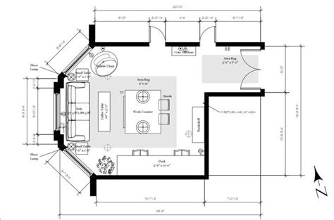 furniture sizes for floor plans typical floor plan showing furniture dimensions details